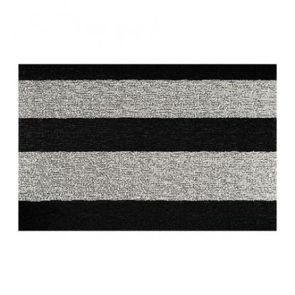 Předložka Large Stripe Black/White 46 cm x 71cm